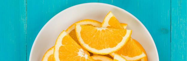 תפוז פרוס בצלחת, אחד המקורות הטובים לויטמין C